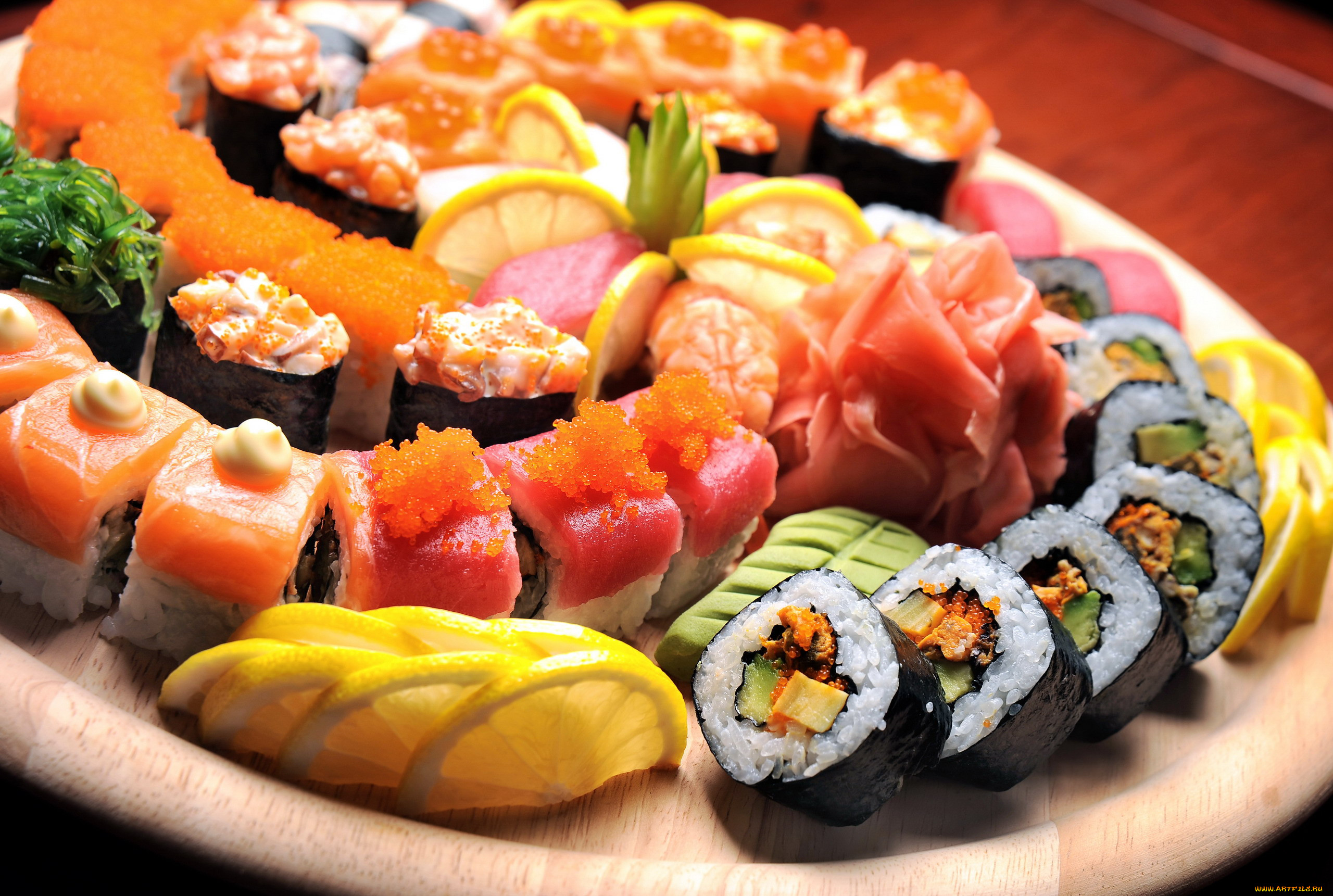 открытки суши важным для кухни